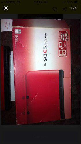 Nintendo 3ds Xl. 3dsxl Rojo Como Nuevo