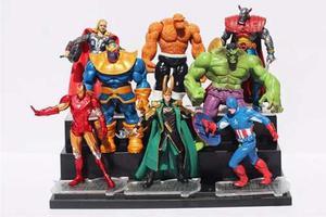 Set De 8 Figuras De Avengers Infinity War Coleccion