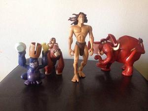 Set De Figuras De Tarzan De La Selva
