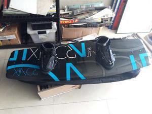 Tabla De Wakeboard Mide 144cm Botas Talla  Marca Ronix