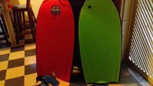 Tablas Bodyboard Con Bolso Y Chapaletas