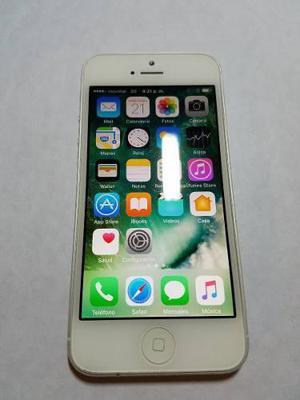 Telefono Apple Iphone 5 Liberado 16 Gb Silver