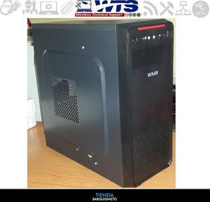 Case Delux Para Pc Amd Intel Con Fuente De Poder 550w Mt377