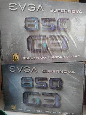 Fuente De Poder 850 Watt Evga Supernova Gold Sellada