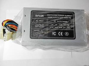 Fuente De Poder Delux Dlp-21d (atx 550w P4)