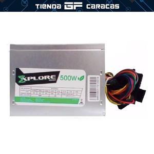 Fuente Poder 500w Explore Power Ps105 + Garantia Somostienda