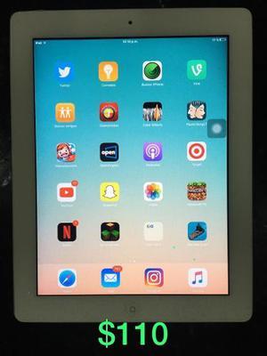 Ipad 2 Wifi 64gb Como Nueva Poco Uso Con Su Forro Y Cargador