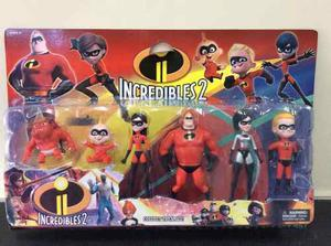 Juguete Los Increibles 2 Play Set De 6 Figuras