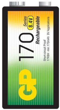 Pila Batería 9v Gp 170 Mah Garantizada