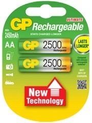 Pila Bateria Recargable Aa mah Ni Mh 1.2v Marca Gp
