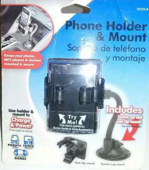 Soporte Universal Para Telefonos Gps Y Video Juegos