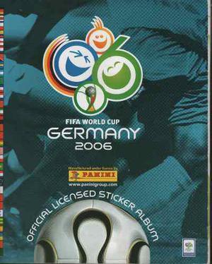 Album Panini Mundial De Futbol Alemania 2006