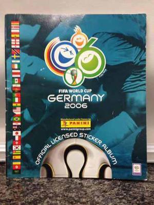 Album Panini Vacío Del Mundial De Fútbol Alemania 2006