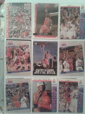 Barajitas Basketball Nba Colección Michael Jordan Oferta