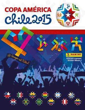 Barajitas Del Álbum Panini De La Copa América Chile 2015