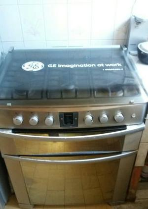 Cocina General Electric 5 Hornillas Doble Horno