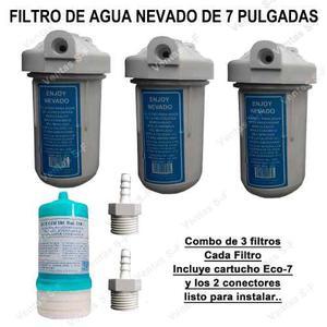 Combo De 3 Filtros De Agua Nevado Al Mayor Ferreterias