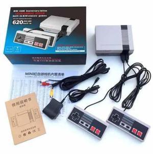 Consola De Nintendo Classic Mini Con 2 Controles 600 Juegos