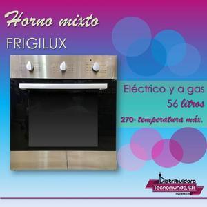 Horno Para Empotrar Mixto Eléctrico Y A Gas 60 Frigilux