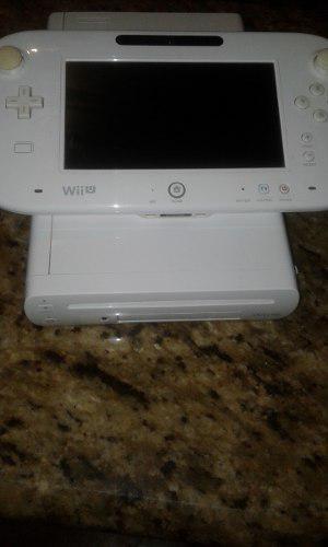 Nintendo Wii U 8gb Leer Descripcion