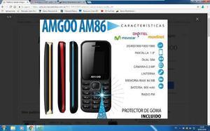 Oferta Ya..celular Amgoo Am88. Al Mayor