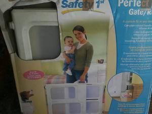 Puerta De Seguridad Para Niños Y/o Mascotas Safety 1st