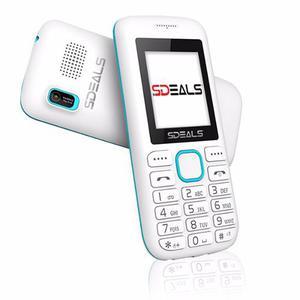 Teléfono Celular Doble Sim Sdeals Sd100 Liberado Blanco