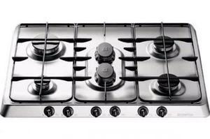Tope De Cocina A Gas Acero Inoxidable Ariston Fp760asgh