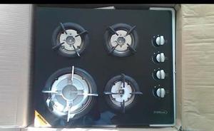 Tope De Cocina A Gas En Vitroceramica 4 Hornillas Premiun