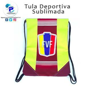 Tula Deportiva Sublimada Personalzada