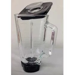 Vaso De Vidrio De Licuadora Oster Con Tapa Y Rosca Obsequio