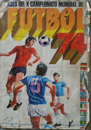 lbum De Barajitas Mundial De Fútbol Alemania 74