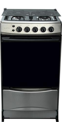 (oferta 10%) Cocina 20 4 Hornillas 110v Negro Pruna Viotto