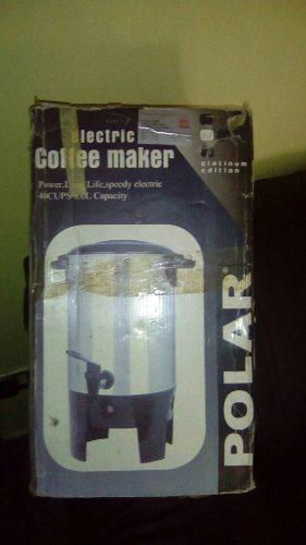 Cafetera Electrica De 40 Tazas Marca Polar