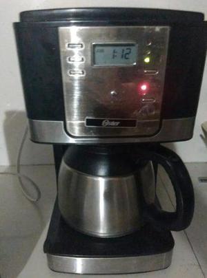 Cafetera Electrica Oster Cromada Con Negro Oferta Por Viaje