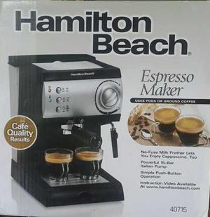 Cafetera Expreso Hamilton Beach