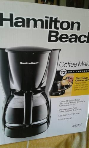 Cafetera Hamilton Beach 12 Tazas 49316r