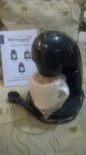 Cafetera Individual Con Taza Porcelana Brentwood Nueva