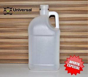 Envases Plásticos De Galon Blancos Con Tapa