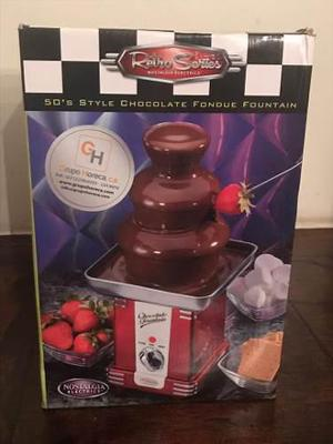 Fuente De Chocolate Master Chef