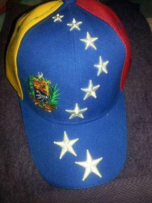 Gorras De Adultos Y Niños Tricolor De Venezuela