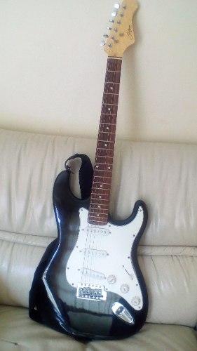 Guitarra Electrica Marca Stalmay Con Amplificador Fretmaster