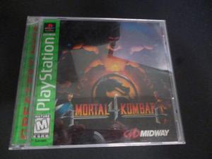 Juego De Coleccion Original Playstation Mk4