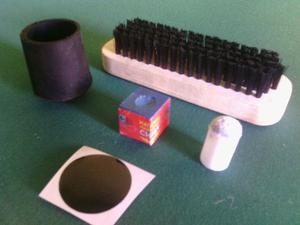 Kit Mantenimiento 6p+6s+3t+2puntos Negro+1cepillo