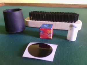 Kit Mantenimiento 6p+6s+3t+2puntos Negro+cepillo