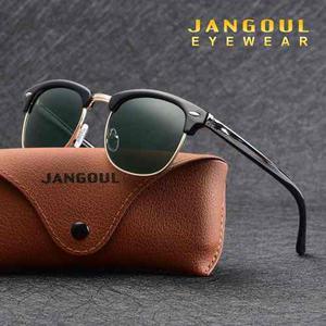 Lentes De Sol Polarizadas Jangoul Vintage Uv400