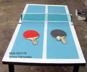 Mesa De Ping Pong Para Niños Y Niñas Plegable
