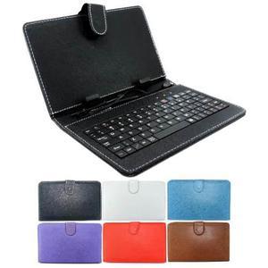 Oferta Forro Con Teclado 7 Tablet Usb Android Color Blanco
