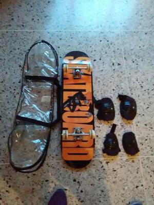 Patineta Skateboard Madera