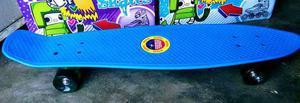 Patineta Skateboards Blue Tipo Penny